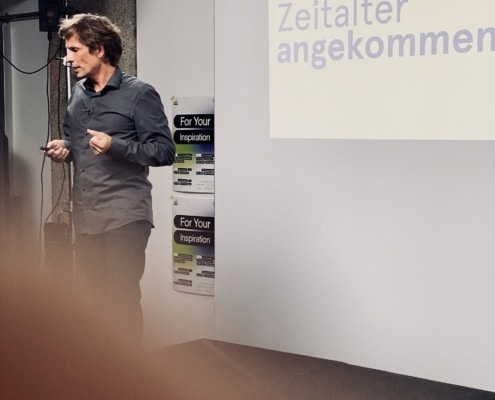 Inspiration Talk mit Bernhard Buchegger